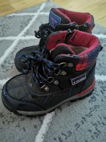 25 rozm śniegowce zimowe buty chłopięce jak nowe