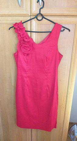 Sukienka czerwona r.40