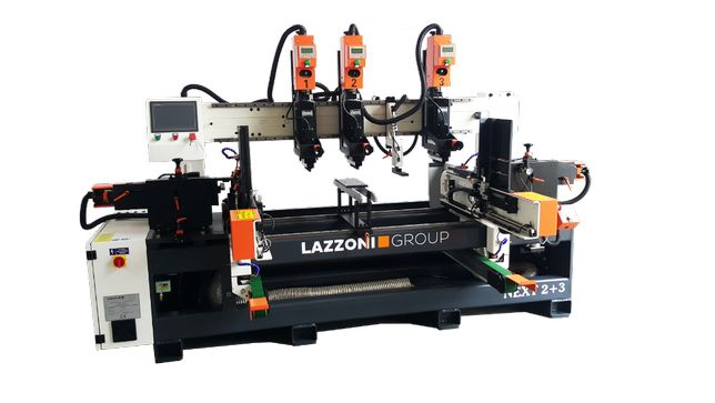 Wiertarka przelotowa Next 2+3 - 260(Wstęgi szufladowe) - Lazzoni Group