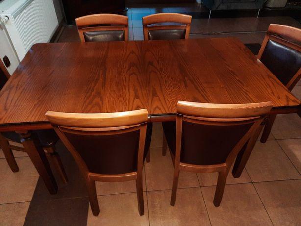 Stół,krzesła,lawa,witryna, komoda rtv