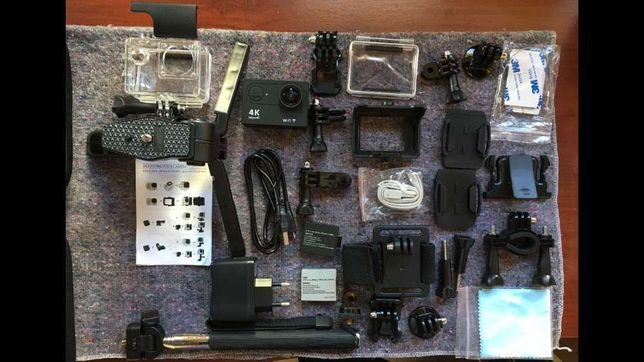Camera Eken H9 Ultra 4K mais extras