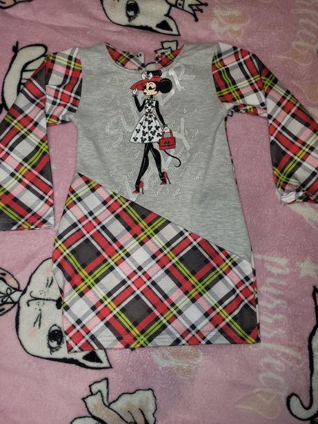 Платье на девочку  86-92