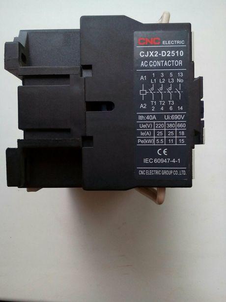 Пускатель (контактор) CJX2-D2510, 25А
