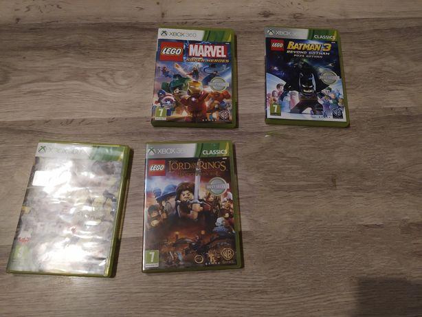 4 gry na Xbox 360 działające