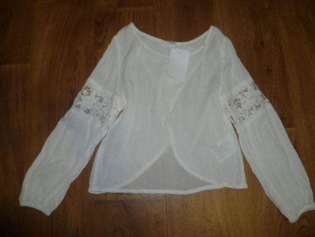 Стильная новая рубашка HM для Вашей школьници