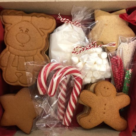 Christmas cookies box Різвяне печиво, подарунок