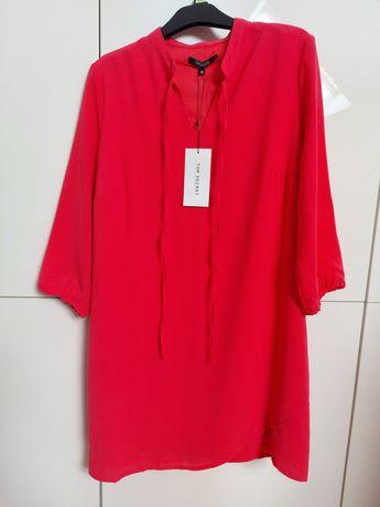 Sukienka koralowa Top Secret 40 NOWA z metką papierową