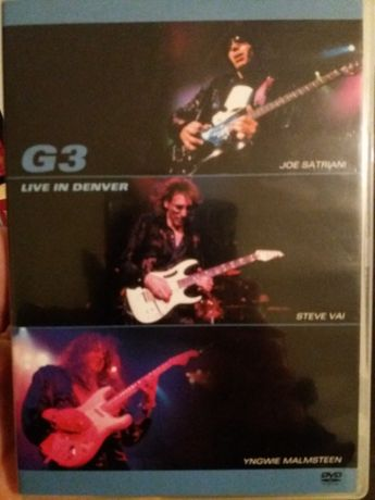 G3 Live im Denver Joe satriani steve vai yngwie malmsteen