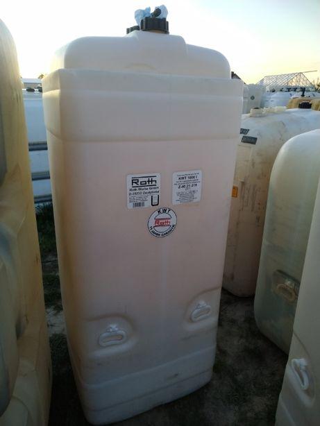 Zbiornik DWUPŁASZCZOWY 1000l na olej paliwo ropę dwuścienny ROTH