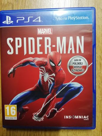 Spider-Man ps4 pl