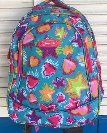 Рюкзак для девочек школьный новый