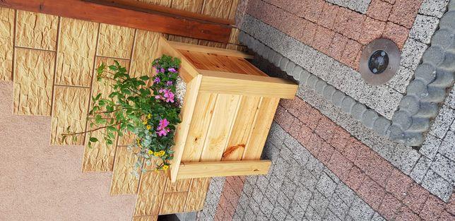 Donice , doniczki drewniane 42x42x48