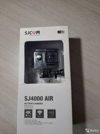 Экшен камера sjcam SJ4000 чёрная Новая Большой Комплект 4490 руб
