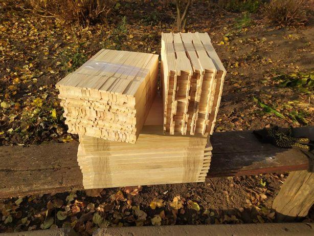 рамки пчелиные, с верхним и нижним евро замком, улья, лежаки