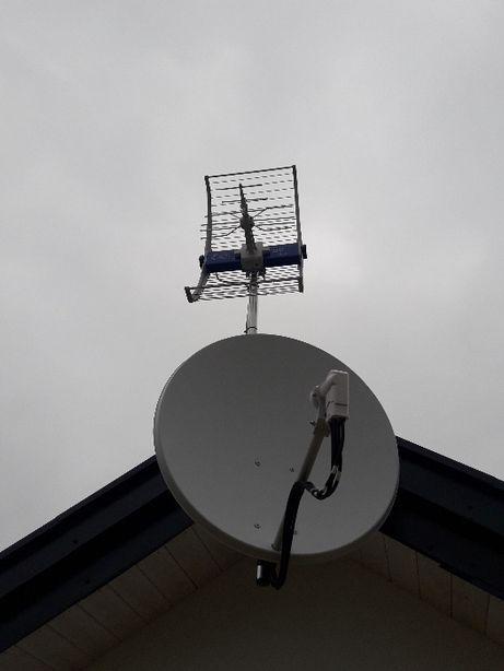 Anteny TV SATelitarne i DVB-T