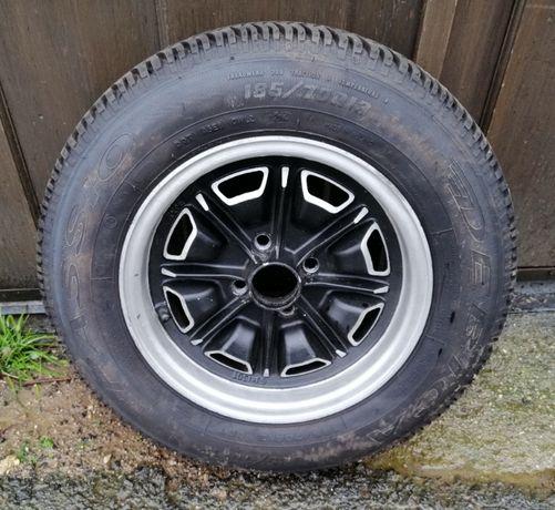 Jantes de Alumínio com 4 pneus novos