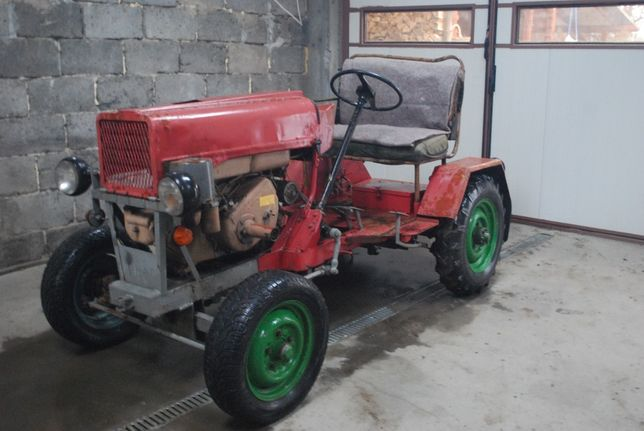 traktor ciągnik sam