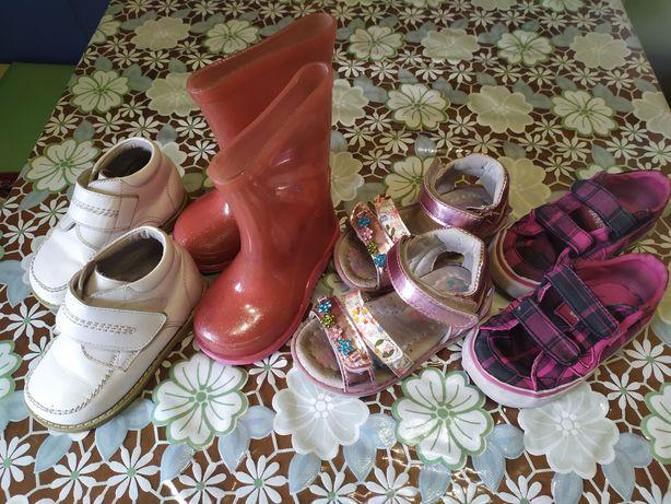 Обувь для девочки. Макасины. Босоножки. Резиновые сапоги. Ботинки Деми
