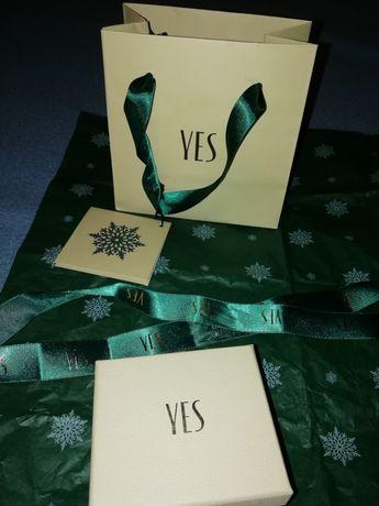 Pudełko i torebka YES