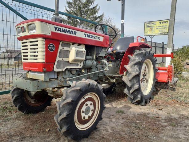 Свіжозавезений японський трактор Yanmar 2210 PowerShift 4x4 як Новий!