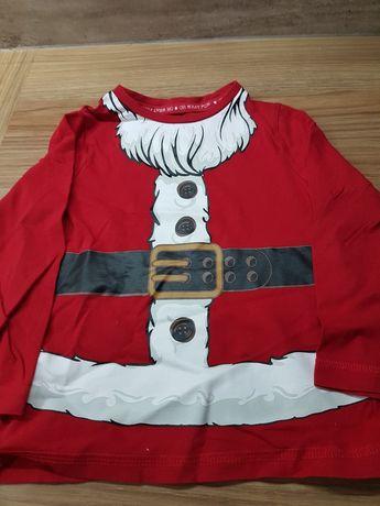 Rozm 86 bluzka dlugi rękaw Boże Narodzenie Święta