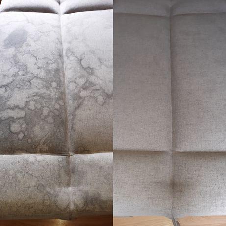 Pranie czyszczenie tapicerki narożników wersalek dywanów wykładzin