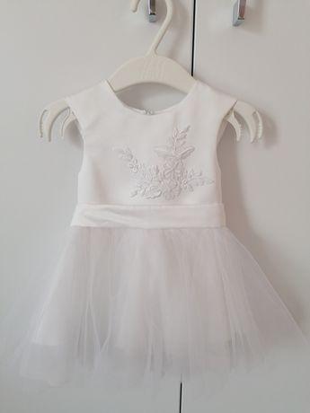 Sukienka do Chrztu, rozmiar 62