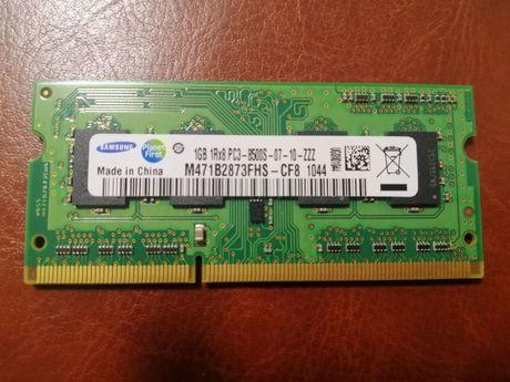 Оперативная память DDR3 1Gb 1RX8 PC3-8500S-07-10-ZZZ
