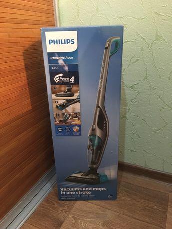 Пылесос ручной моющий PHILIPS PowerPro Aqua