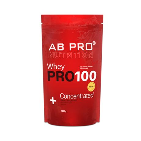 Протеин AB PRO 100 Whey Concentratet 1000g