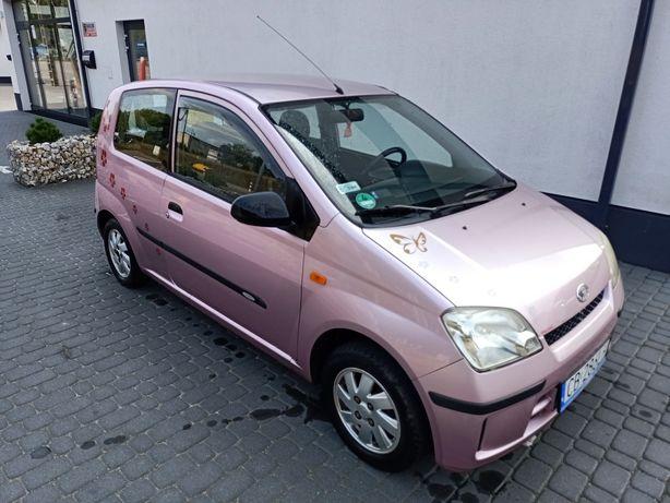 Daihatsu cuore 1.0 benzyna rok 2004 wyjątkowy kolor