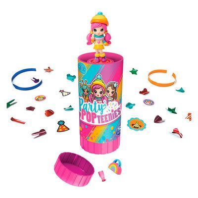 Хлопушки с сюрпризом Party Popteenies с куклой и акссес., как LOL