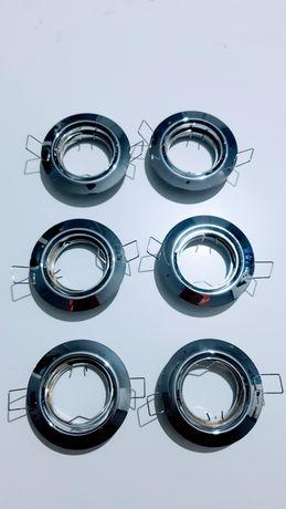 Oprawa halogena+przewody, wtyczki GU10+puszka na bezpieczniki S Gratis