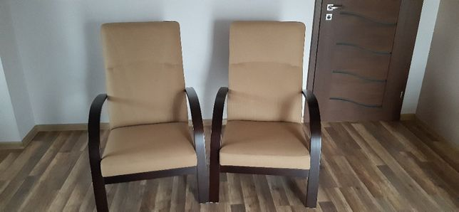 Fotele - beż, brąz