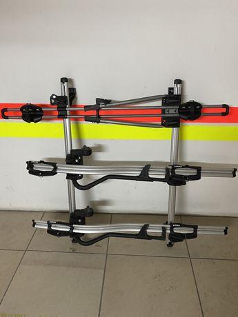 Barras de tejadilho Thule com suportes de bicicleta