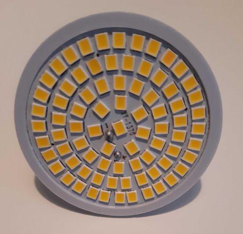 Lâmpada LED MR16 (Branco Quente c/ 80LED) - Nova