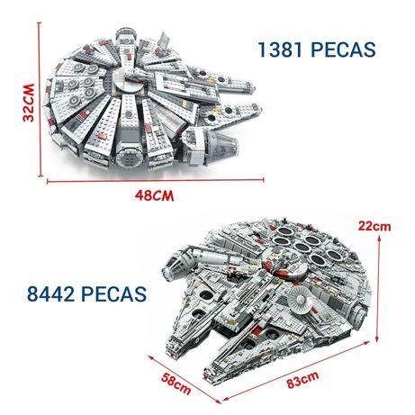 Set lego Millenium(s) Falcon / Star Wars