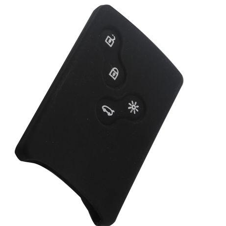 Etui silikonowe do kart Renault - czarne