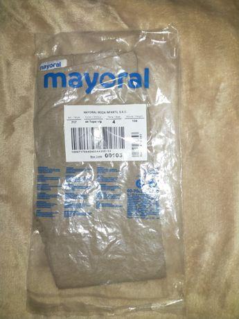 Nova, embalada e etiquetada leggings cor creme da Mayoral tamanho 4