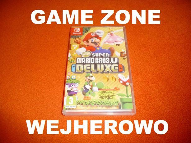 NEW Super Mario Bros U Deluxe Nintendo SWITCH = Wejherowo