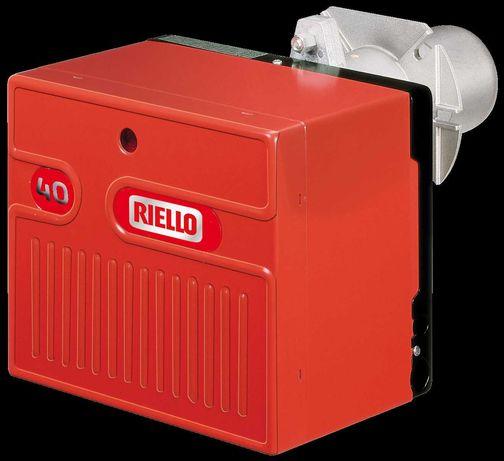 Palnik gazowy Riello 40 FS10+MBD 407 moc 42-116kW, malowanie proszkowe
