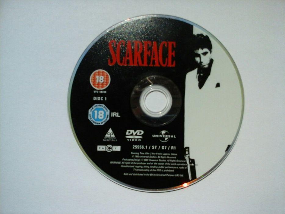 Scarface Al Pacino Tony Montana Brian De Palma Człowiek z Blizną DVD Białystok - image 1