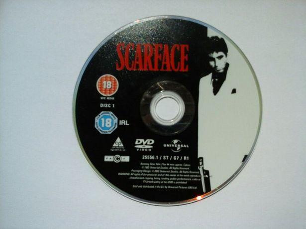 Scarface Al Pacino Tony Montana Brian De Palma Człowiek z Blizną DVD