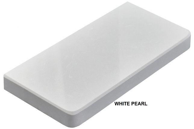 Parapet wewnętrzne z konglomeratu WHITE PEARL