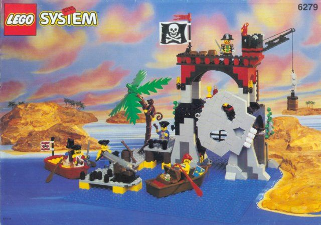 Lego System Piraci 6279 Skull Island