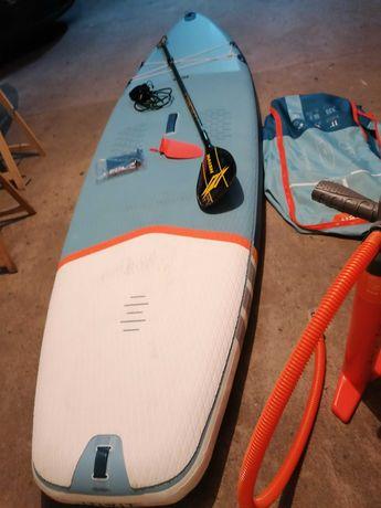 11 prancha de surf SUP insuflavel malibu Evolution padlleboard nsp FCS