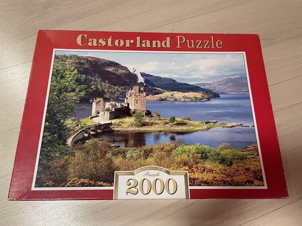 Пазл Castoland на 2000 не полный