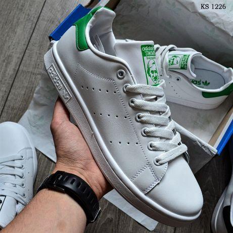 Мужские кроссовки Adidas Stan Smith! Артикул: KS 1226