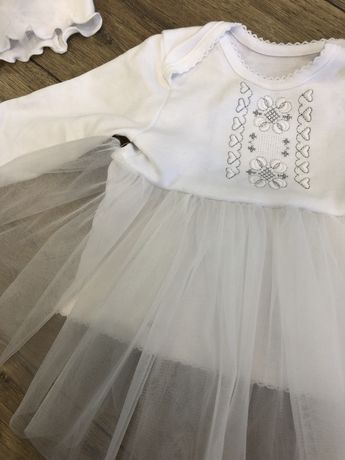 Набір на хрещення плаття пов'язка