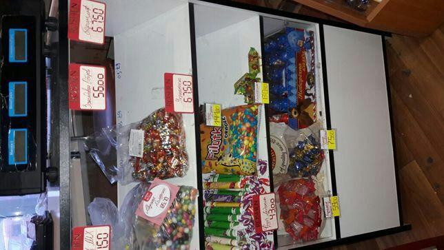 Продам стеллажи для конфет и кондитерки